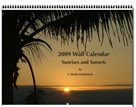Calendar cover for 2009 sunset calendar
