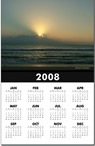sunrise year-at-a-glance calendar in the Nature Art gift shop