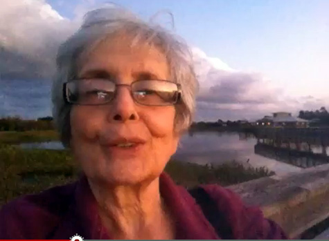Sheila Finkelstein thanks subscribers and wishes a happy new year at Green Cay Sunset