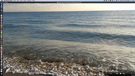 ocean video another view - desktop cover wallpaper